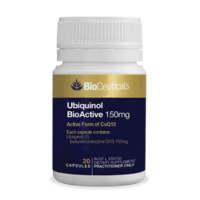 BioCeuticals Ubiquinol BioActive 150mg 30 Caps