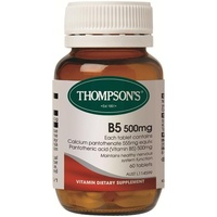 Thompson's B5 Pantothenic Acid 500mg 60 Tablets