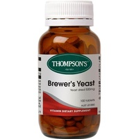 Thompson's Brewers Yeast 100 Tablets
