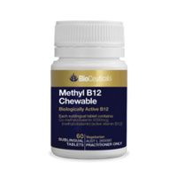 Bioceuticals Methyl B12 Chewable 60 tablets