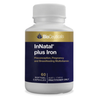 BioCeuticals InNatal plus Iron 90 softgels