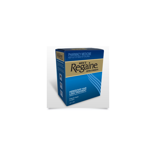 REGAINE Extra Strength 5% Topical Solution 4 Months Supply Rogaine