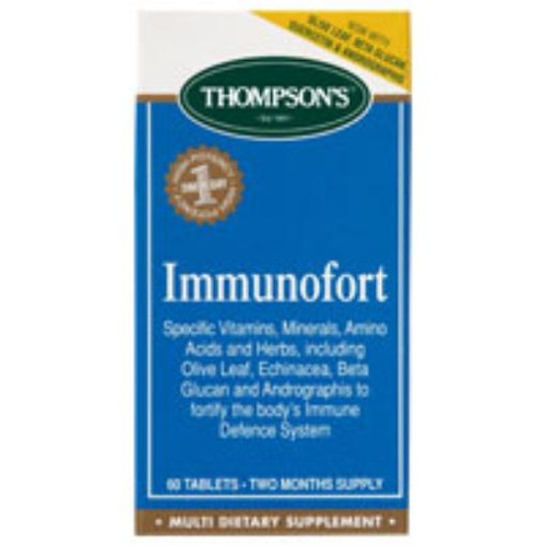 Thompson's Immunofort 60 Tablets
