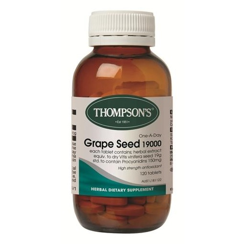 Thompson's One-a-day Grape Seed 19000mg 60 Tablets