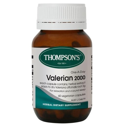 Thompson's One-a-day Valerian 2000mg 60 Capsules