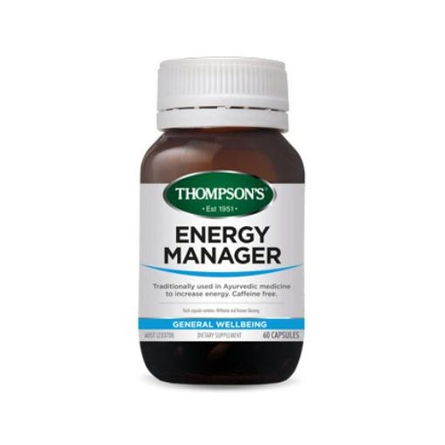 Thompson's Energy Manager 60 Capsules