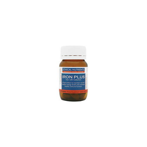 Ethical Nutrients Iron Plus - 30 Tablets